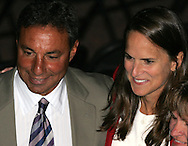28 August 2006: Tony DiCicco and inductee Carla Overbeck. The National Soccer Hall of Fame Induction Ceremony was held at the National Soccer Hall of Fame in Oneonta, New York.