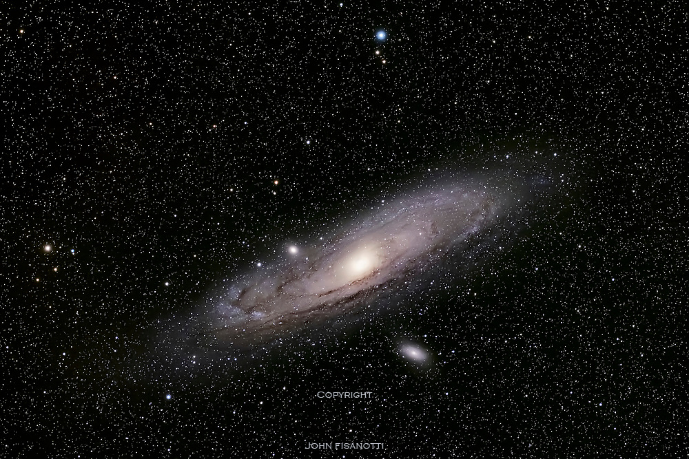 The Andromeda Galaxy is part of the Local Group of galaxies.  The Milky Way will someday merge with the Andromeda Galax