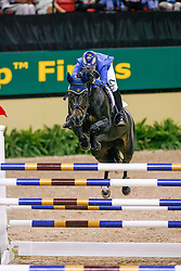 Melchior Judy Ann, BEL, Grand Dame Z<br /> World Cup Final Jumping - Las Vegas 2007<br /> © Hippo Foto - Dirk Caremans<br /> 21/04/2007