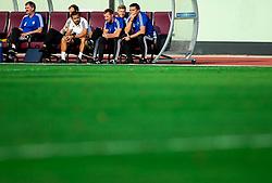 Dejan Doncic, head coach of Triglav during football match between NK Triglav and NK Celje in 7th Round of Prva liga Telekom Slovenije 2019/20, on August 25, 2019 in Sports park, Kranj, Slovenia. Photo by Vid Ponikvar / Sportida
