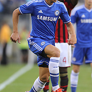 César Azpilicueta, Chelsea, in action during the Chelsea V AC Milan Guinness International Champions Cup tie at MetLife Stadium, East Rutherford, New Jersey, USA.  4th August 2013. Photo Tim Clayton
