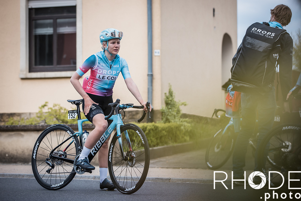 Anna Christian (GBR/Drops-LeCol), post stage<br /> <br /> Ceratizit Festival Elsy Jacobs (LUX) 2021<br /> UCI Women Elite 2.1<br /> Day 2 – stage : Steinfort >Steinfort 125.1km  <br /> <br /> ©RhodePhoto