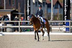 Dicker Robin, NED, Happy Feet<br /> CDI3* Opglabbeek<br /> © Hippo Foto - Sharon Vandeput<br /> 23/04/21