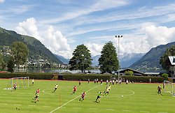 16.07.2014, Alois Latini Stadion, Zell am See, AUT, Bayer 04 Leverkusen Trainingslager, im Bild Übersicht des Stadions und der Umgebung // Overview of the stadium and the surrounding area during a Trainingssession of the German Bundesliga Club Bayer 04 Leverkusen at the Alois Latini Stadium, Zell am See, Austria on 2014/07/16. EXPA Pictures © 2014, PhotoCredit: EXPA/ JFK