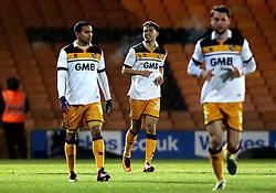 Tyler Walker of Port Vale celebrates scoring a goal - Mandatory by-line: Robbie Stephenson/JMP - 20/01/2017 - FOOTBALL - Vale Park - Stoke-on-Trent, England - Port Vale v Bury - Sky Bet League One
