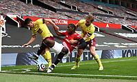 Football - 2020 / 2021 Premier League - Manchester United vs Burnley - Old Trafford<br /> <br /> Paul Pogba of Manchester United is fouled after he flicks the ball up  at Old Trafford<br /> <br /> Credit COLORSPORT/LYNNE CAMERON
