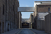 The Guinness Storehouse on 07th April 2017 in Dublin, Republic of Ireland. Located in St. James's Gate Brewery, the production site has been home to the Guinness brewery since 1759, when Arthur Guinness signed a lease for 9,000 years. The Guinness Storehouse building dates back to 1904.