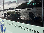 "Putney, London,  Tideway Week, Championship Course. River Thames, ""Reflections"", CUWBC, Boating outside Thames RC, <br /> <br />  Saturday  01/04/2017<br /> <br /> [Mandatory Credit; Credit: Peter SPURRIER/Intersport Images.com ]"