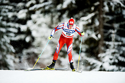 December 16, 2017 - Toblach, ITALY - 171216 Sergio Rigoni of Italy competes in men's 15km interval start free technique during FIS Cross-Country World Cup on December 16, 2017 in Toblach..Photo: Jon Olav Nesvold / BILDBYRN / kod JE / 160104 (Credit Image: © Jon Olav Nesvold/Bildbyran via ZUMA Wire)