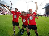 Fotball<br /> Bundesliga Tyskland<br /> Foto: Witters/Digitalsport<br /> NORWAY ONLY<br /> <br /> v.l. Michael Ballack, Torsten Frings, Roy Makaay<br /> Bundesliga 1. FC Kaiserslautern - FC Bayern München  0:4