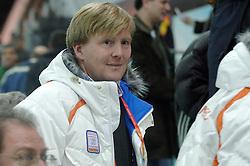 11-02-2006 SCHAATSEN:OLYMPISCHE WINTERSPELEN: 5000 METER HEREN: TORINO<br /> Prins Willem Alexander<br /> ©2006-Ronald Hoogendoorn