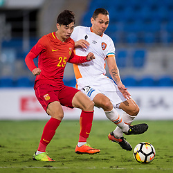 BRISBANE, AUSTRALIA - AUGUST 28: During a Hyundai A-League Pre-Season match between Brisbane Roar and the Chinese u22 National Team on August 28, 2017 on the Gold Coast, Australia. (Photo by Brisbane Roar / Patrick Kearney)