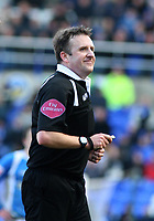 Photo: Mark Stephenson.<br /> Birmingham City v Stoke City. Coca Cola Champinship. 11/02/2007.Referee Mr J Moss