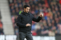 Football - 2019 / 2020 Premier League - AFC Bournemouth vs. Arsenal<br /> <br /> Mikel Arteta takes charge of his first game as Arsenals head coach at the Vitality Stadium (Dean Court) Bournemouth <br /> <br /> COLORSPORT/SHAUN BOGGUST