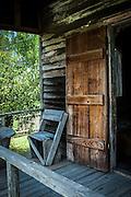 Louisiana bayou, USA Traditional Bayou wood Cabin