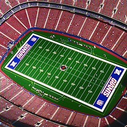 Aerial photograph of the New York  Giants Football Stadium at the meadowlands