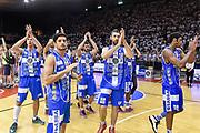 DESCRIZIONE : Campionato 2014/15 Serie A Beko Grissin Bon Reggio Emilia -  Dinamo Banco di Sardegna Sassar Finale Playoff Gara1<br /> GIOCATORE : Team Dinamo Sassari<br /> CATEGORIA : Ritratto Delusione Postgame<br /> SQUADRA : Dinamo Banco di Sardegna Sassari<br /> EVENTO : LegaBasket Serie A Beko 2014/2015<br /> GARA : Grissin Bon Reggio Emilia - Dinamo Banco di Sardegna Sassari Finale Playoff Gara1<br /> DATA : 14/06/2015<br /> SPORT : Pallacanestro <br /> AUTORE : Agenzia Ciamillo-Castoria/GiulioCiamillo