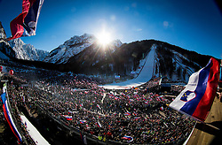 Spectators during the Ski Flying Hill Individual Competition at Day 2 of FIS Ski Jumping World Cup Final 2016, on March 18, 2016 in Planica, Slovenia. Photo by Vid Ponikvar / Sportida