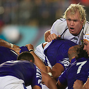 Schalk Burger, South Africa, during the South Africa V Samoa, Pool D match during the IRB Rugby World Cup tournament. North Harbour Stadium, Auckland, New Zealand, 30th September 2011. Photo Tim Clayton...