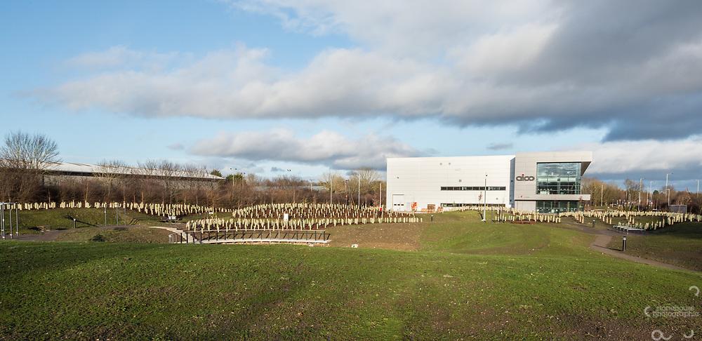 AICO Headquarters , Oswestry, Shropshire by DGA Architects, Shrewsbury, UK. 12/01/2020