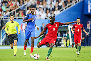 Ederzito shots and scores his goal that made Portugal national squad become European Champions. Portugal beat home team France at Saint Denis stadium in Paris, after winning on extra-time by 1-0.