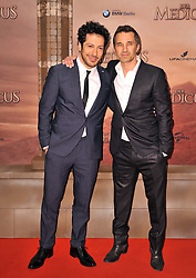 Fahri Yardim and Olivier Martinez attends the German premiere of the film 'The Physician' at Zoo Palast,  Berlin, Germany, Monday, 16th December 2013. Picture by  Schneider-Press / i-Images<br /> UK & USA ONLY