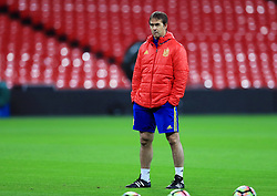 File photo dated 14-11-2016 of Spain manager Julen Lopetegui