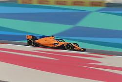 April 7, 2018 - Sakhir, Bahrain - Motorsports: FIA Formula One World Championship 2018, Grand Prix of Bahrain,#14 Fernando Alonso (ESP, McLaren-Renault) (Credit Image: © Hoch Zwei via ZUMA Wire)