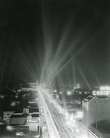 1943 Searchlights at the Hollywood Bowl