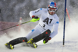 21.12.2011, Hermann Maier Weltcup Strecke, Flachau, AUT, FIS Weltcup Ski Alpin, Herren, Slalom 1. Durchgang, im Bild Manfred Moelgg (ITA) in Aktion // Manfred Moelgg of Italy in action during Slalom race 1st run of FIS Ski Alpine World Cup at 'Hermann Maier World Cup' course in Flachau, Austria on 2011/12/21. EXPA Pictures © 2011, PhotoCredit: EXPA/ Johann Groder
