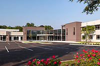 Architectural image of renovations at 1310 N Courthouse Road in Arlington VA by Jeffrey Sauers of CPI Productions image of lobby of 1750 Forest Drive office building in Annapolis MD by Jeffrey Sauers of CPI Productions