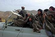 Foreign Taliban, possibly IMU(Islamic Movement of Uzbekistan) leaving Kunduz for a northern Aliiance safehouse.