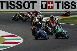 June 3, 2018 - Scarperia, Tuscany, Italy - Moments of Moto3 race as part of  Italian Motogp at Mugello Circuit, Scarperia, Italy; (Credit Image: © Gaetano Piazzolla/Pacific Press via ZUMA Wire)