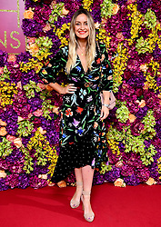 Francesca Newman-Young attending the Crazy Rich Asians Premiere held at Ham Yard Hotel, London.