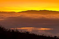 Ngorongoro Crater at sunrise, Ngorongoro Conservation Area, Tanzania