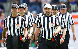 19.06.2016, FAC Stadion, Wien, AUT, AFL, AFC Vienna Vikings vs Projekt Spielberg Graz Giants, im Bild Referee Team // during the AFL game between AFC Vienna Vikings vs Projekt Spielberg Graz Giants at the FAC Stadion, Vienna, Austria on 2016/06/19. EXPA Pictures © 2016, PhotoCredit: EXPA/ Thomas Haumer