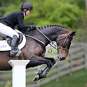 NORTH SALEM, NEW YORK - May 15: Christine McCrea, USA, riding Win For Life, in action during The $50,000 Old Salem Farm Grand Prix presented by The Kincade Group at the Old Salem Farm Spring Horse Show on May 15, 2016 in North Salem. (Photo by Tim Clayton/Corbis via Getty Images)