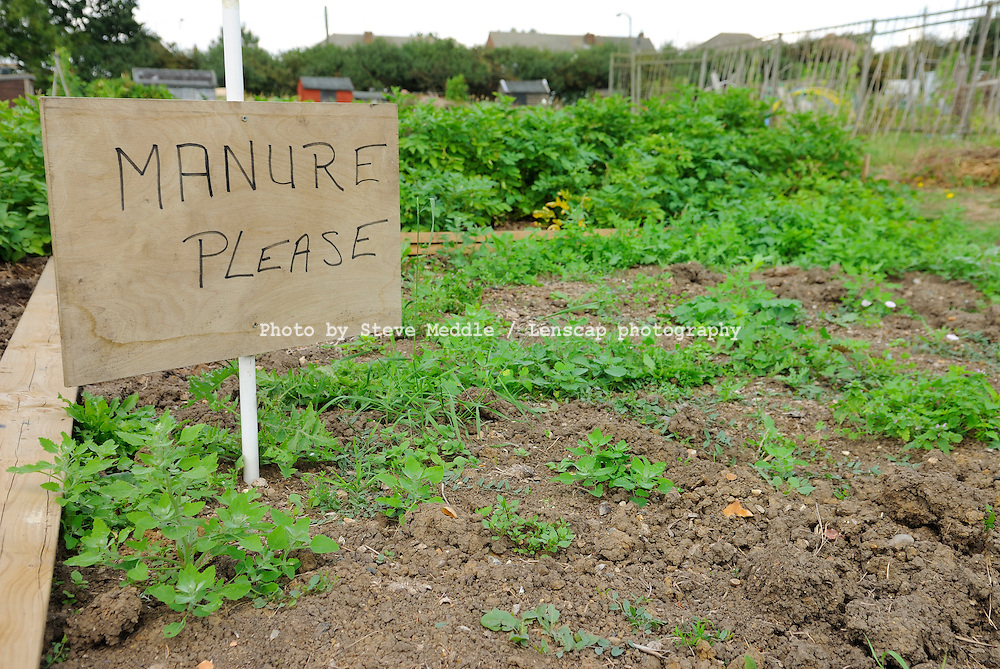 Request for Manure Sign at Allotment - August 2009