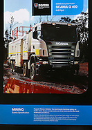 Scania Mine Site Service Vehicle