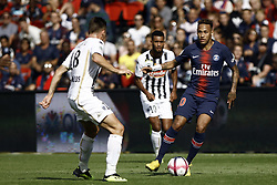 August 25, 2018 - Paris, France - Neymar during the French L1 football match Paris Saint-Germain (PSG) vs Angers (SCO), on August 25, 2018 at the Parc des Princes in Paris. (Credit Image: © Mehdi Taamallah/NurPhoto via ZUMA Press)