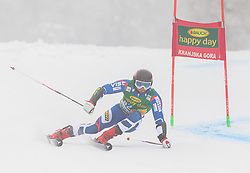 Ivan Kuznetsov of Russia during 1st run of Men's Giant Slalom race of FIS Alpine Ski World Cup 57th Vitranc Cup 2018, on 3.3.2018 in Podkoren, Kranjska gora, Slovenia. Photo by Urban Meglič / Sportida