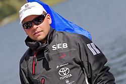 Johnie Berntsson, Berntsson Sailing Team. St Moritz Match Race 2010. World Match Racing Tour. St Moritz, Switzerland. 2nd September 2010. Photo: Ian Roman/WMRT.