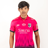 THAILAND - JUNE 06: Narathon Pornjitkitichai #24 of Chainat Hornbill FC on June 06, 2019.<br /> .<br /> .<br /> .<br /> (Photo by: Naratip Golf Srisupab/SEALs Sports Images/MB Media Solutions)