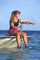 Meghan Staley & Hydrophone Tracking Lemon Sharks