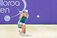 Sofia Kenin (USA) during the Mallorca Open at Country Club Santa Ponsa on June 22, 2018 in Mallorca, Spain. Photo Credit: Katja Boll/EVENTMEDIA.