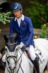 Saito Koki, JPN, Calcento,<br /> CHIO Rotterdam 2021<br /> © Hippo Foto - Sharon Vandeput<br /> 4/07/21