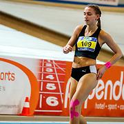 NLD/Apeldoorn/20180217 - NK Indoor Athletiek 2018, 800 meter dames, Lydia van Dijk