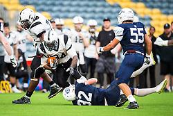 London Warriors running back in action - Mandatory by-line: Jason Brown/JMP - 27/08/2016 - AMERICAN FOOTBALL - Sixways Stadium - Worcester, England - London Warriors v London Blitz - BAFA Britbowl Finals Day