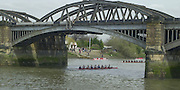 London, Great Britain, General views from the Barnes Rail Bridge area at the 2002 Head of the River Race Championship Course Chiswick [Mortlake] to Putney. River Thames. Saturday, [Mandatory Credit. Peter SPURRIER/Intersport Images. 20020323. Head of the River Race, London. UK.