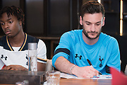 Tottenham Hotspur F.C attends Autograph signing session at Eaton House, Central, 26 May 2017. HONG KONG.<br /> Photo by MozImages.